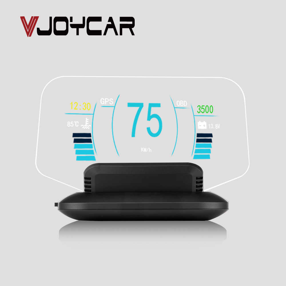 Newest HUD Mirror Car Head-up Display Speed Projector On Board Trip Computer OBD II Diagnostic Tool Faulty Code Car Speedometer