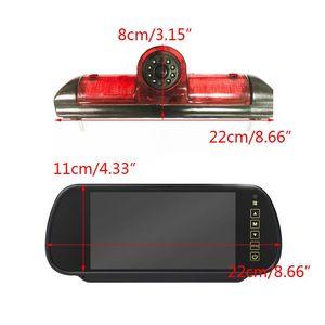 Image 2 - Luz de Freio de LED IR Rear View Invertendo Estacionamento Camera & 7 Polegada Monitor Kit para Fiat Ducato Para Citroen Relay para Peugeot Boxer