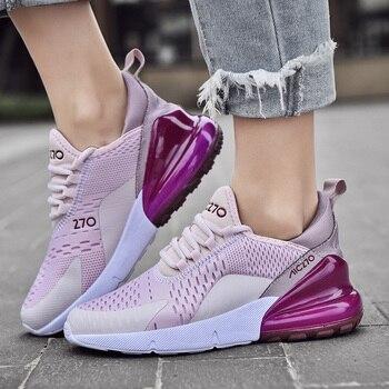 Zapatillas de deporte ligeras para mujer, Zapatos informales con cojín de aire,...