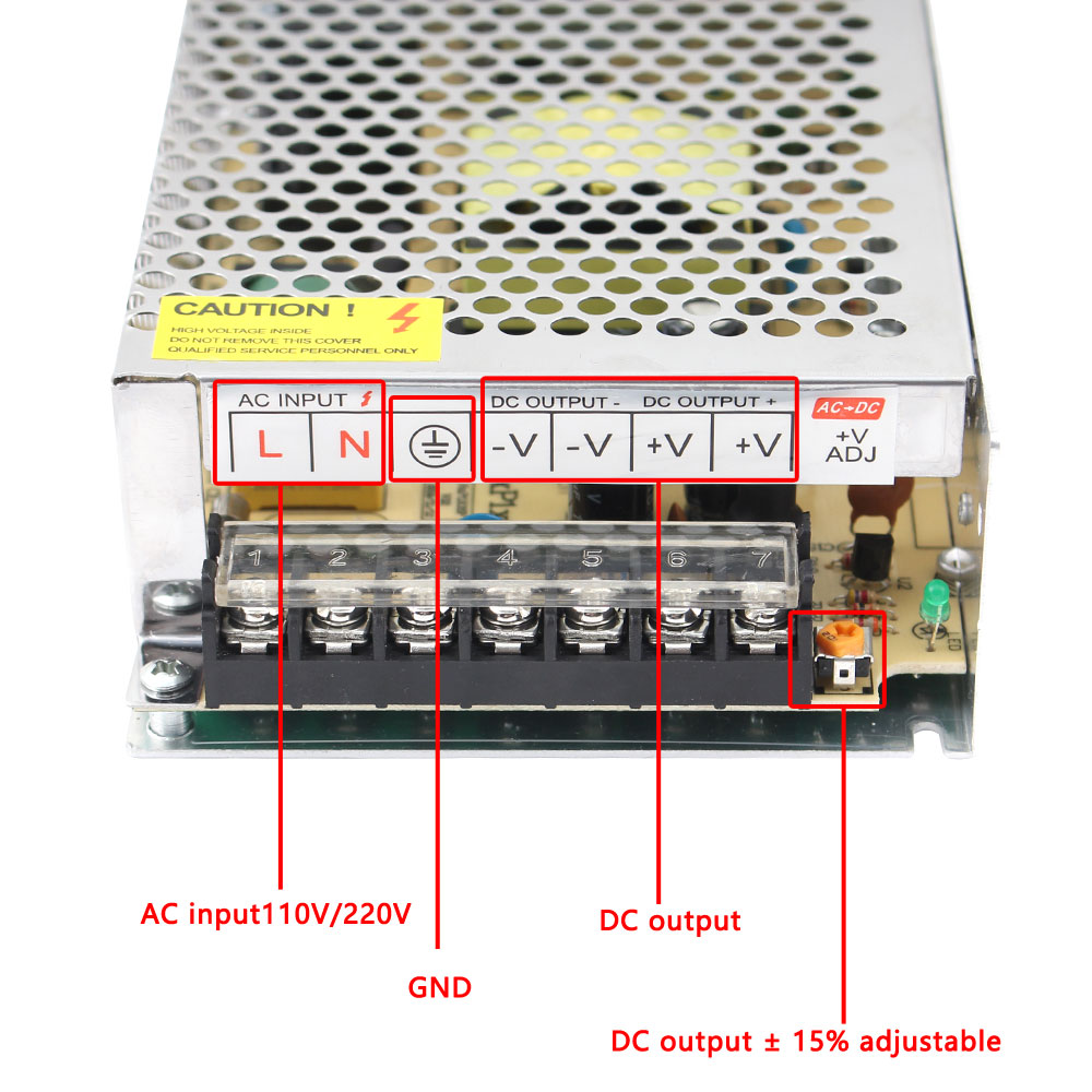 AC DC 3V 5V 9V 12V Power Supply,15V 18V 24V 36V Fonte 500W Transformers,220V To 5 12 24 V Power Supply,5V 12V 24V SMPS-4
