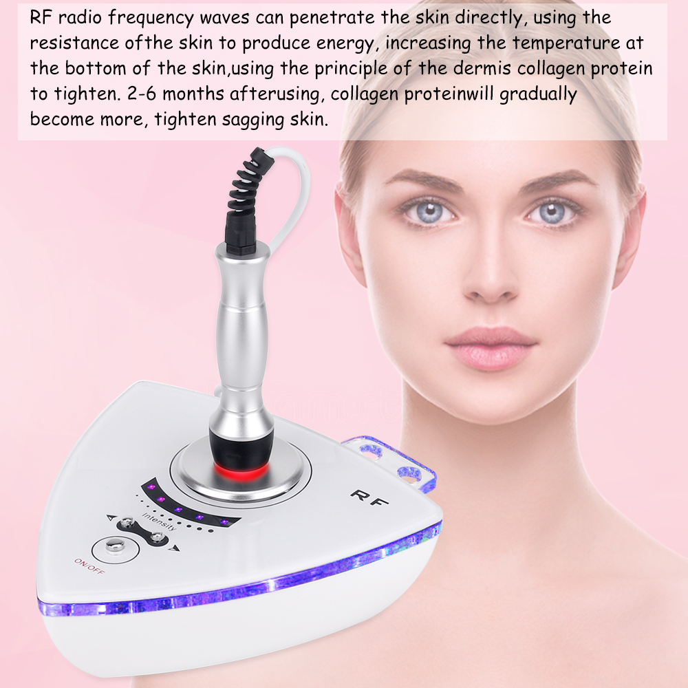 New technology Probe Facial Machine Multifunction Skin Rejuvenation Tightening Massage Salon Beauty Device - 4
