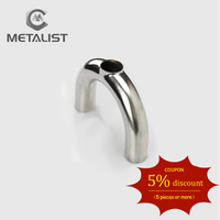 METALIST 3 Pipe OD 76MM Sanitary 3 Way U tube Weld Type SS304 Stainless Steel Pipe Fitting