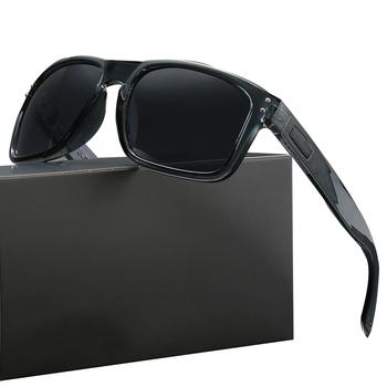 9102 moda O okulary mężczyźni kobiety luksusowa marka plac Sport podróży kierowcy okulary gogle UV400 Gafas de sol tanie i dobre opinie AOLEKY CN (pochodzenie) Z tworzywa sztucznego SQUARE Dla osób dorosłych MIRROR Przeciwodblaskowe 47mm 53mm