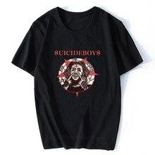 $ Uicideboy $ T koszula samobójstwo dorosła męska koszulka Suicideboys Hip Hop Rap koszula męska bawełniana koszulka klasyczna fajna koszulka Plus rozmiar