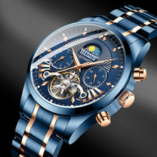 2020 new HAIQIN Mens Watches mechanical automatic w