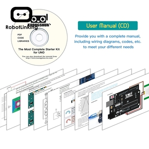 Image 5 - Robotlinking The Most Complete Starter Kit Tutorial for UNO Component for Arduino (63 Items)