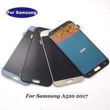 Incell Dành Cho Samsung Galaxy Samsung Galaxy A5 2017 A520F SM A520F A520 Màn Hình LCD Hiển Thị Màn Hình Cảm Ứng Số màu Hội