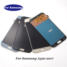 Incell Samsung Galaxy A5 2017 A520F SM A520F A520 LCD ekran dokunmatik ekran Digitizer cam meclisi