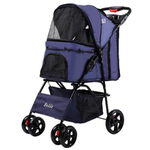 Pet Cats Dogs Beautiful Fashionable Trolley Outdoor Travel Easy To Carry One-click Folding Can Bear 15KG Strong Durable