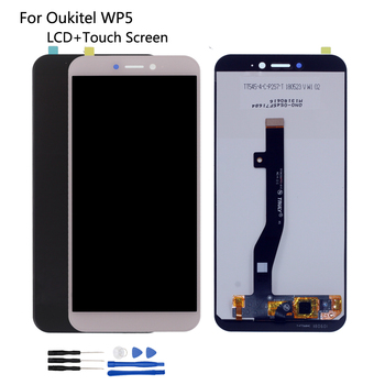 Original For Oukitel WP5 LCD Display Touch Screen Digitizer Assembly Repair Parts For OUKITEL WP5 Screen LCD Display Free Tools for myphone hammer energy lcd display touch screen original lcd glass digitizer assembly repair parts