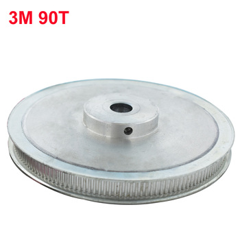Free Shipping HTD 3M Type 90T 90 Teeth 8/10/12mm Inner Bore 3mm Pitch 11 Belt Width Synchronous Timing Belt Pulley