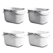 Сетчатые для душа Caddy Handy пластиковые корзины с ручками хранения аксессуары для ванной комнаты
