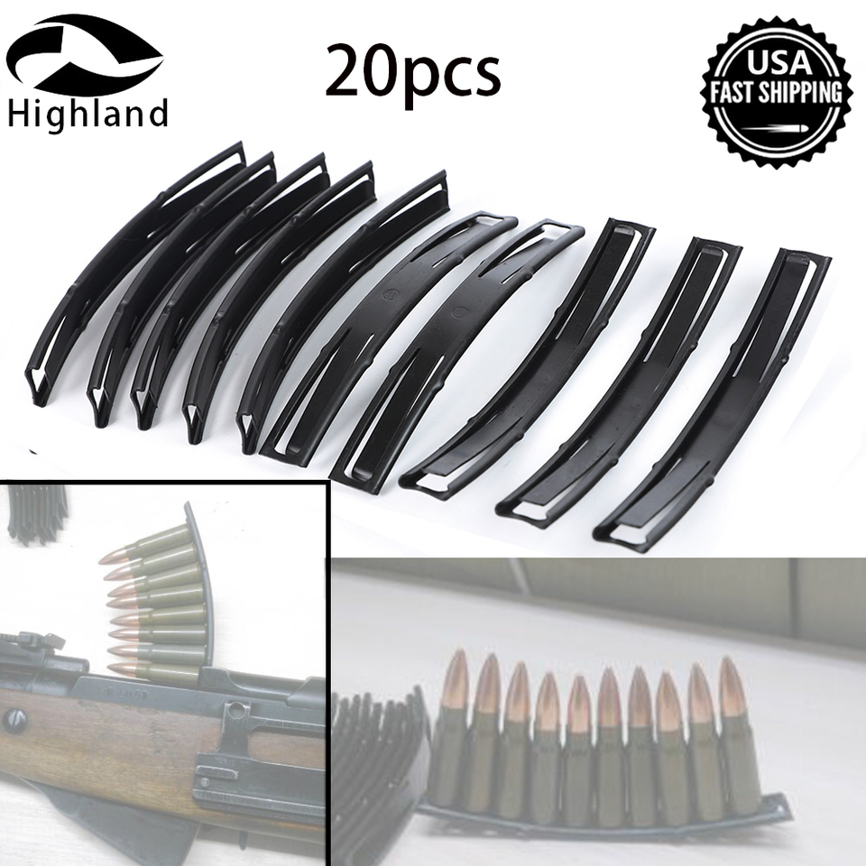 50 PCS  7.62x39mm 10 Round Stripper Clips