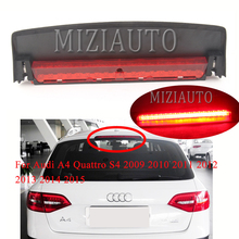 цена на For Audi A4 Quattro S4 2009 2010 2011 2012 2013 2014 2015 8K5945097 High Mount Third light High Brake light Rear LED Stop Light