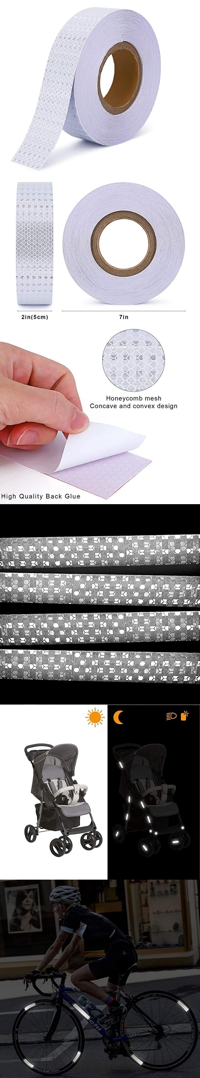 Высокое качество самоклеющиеся Стикеры автомобиль дорожный светоотражающая