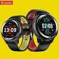 Dt68 smartwatch ip68 방수 팔찌 20 다이얼 시계 얼굴 피트니스 트래커 메시지 푸시 블루투스 남성 여성 스마트 시계