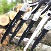 AI-ROAD Hand Folding Saw Woodworking Cutting Tool Collapsible Sharp Camping Garden Prunch Saw Trees Chopper Dry Wood Knife 2