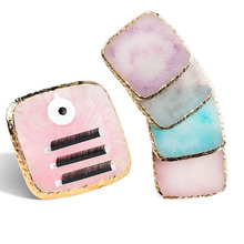 1 Pc False Eyelash Extension Stand Pallet Pad Resin Square Lashes glue Holder For Fake Eyelashes Extension Makeup Tools