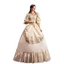 Костюм викторианской тематики рококо, вечернее платье для маскарада, вечернее платье, женское платье викторианской тематики, платье 18-го ве...
