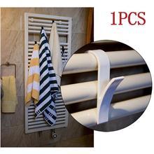 Вешалка для полотенец, 1 шт., высокое качество, вешалка для полотенец, радиатор, трубчатый Крючок для ванной, держатель perchas para la ropa 1211