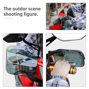 Image 4 - 오토바이 핸드 가드 Handguard 방패 Windproof 오토바이 범용 보호 기어 스쿠터에 대 한 BMW r1200gs에 대 한 폐하 250