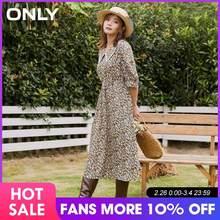 Только в том случае, Для женщин с пышными рукавами средней длины платье с цветочным рисунком   120307221