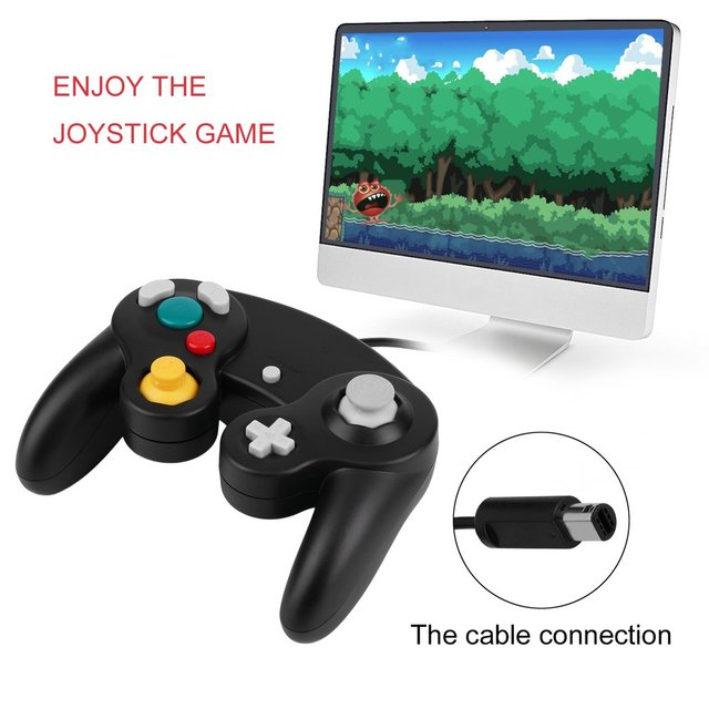 Gamepads Game Controller Pad Joystick for Nintendo Game Cube or for Wii kids Christmas gift sensitive switch colorful RC handle