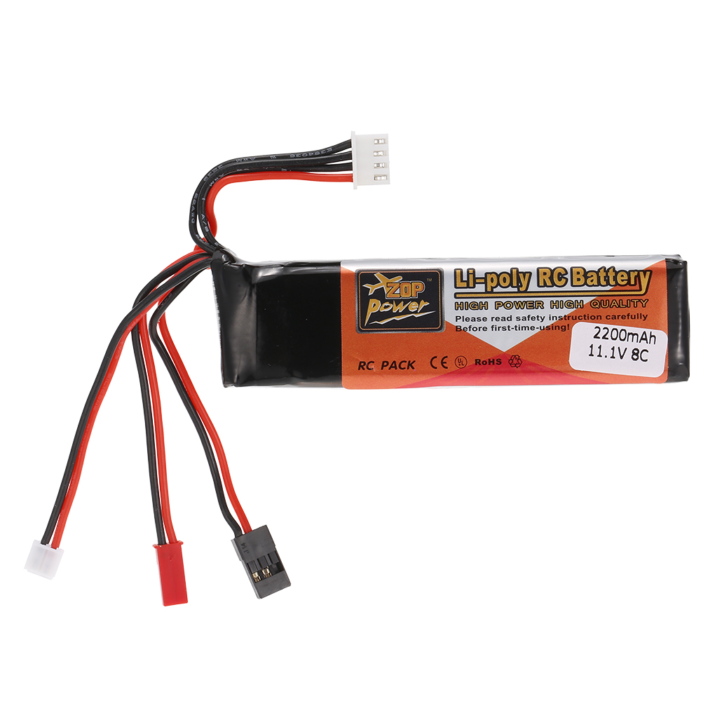 High Quality Transmitter <font><b>LiPo</b></font> Battery <font><b>11.1V</b></font> <font><b>2200mAh</b></font> for Futaba JR Walkera Devo7/10 WFLY Transmitter image