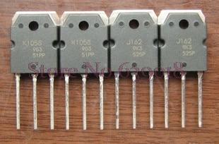 2pcs/lot=(1pair) 2SK1058 2SJ162 K1058 J162 TO-3P