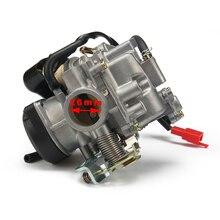 Free Shipping Racing 2T 4T Universal For CVK Carburador motorcycle 21 24 26 28 30 32 34mm Power Racing Moto