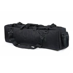 Image 4 - Тактический охотничий рюкзак около 100 см, квадратная переносная сумка с двойной винтовкой и ремешком на плечо, защитный чехол для оружия, рюкзак 1000D, нейлон