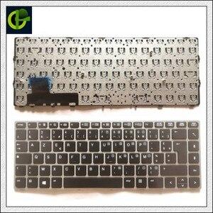 Новая Французская клавиатура с раскладкой Azerty для HP EliteBook Folio 9470 9470M 9480 9480m 697685-001 V135426AS2 697685-051 FR ноутбук такой же, как на фото