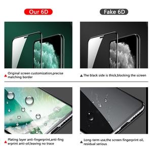 Image 4 - 6Dフルカバー強化ガラス8 7 6 6sプラスx xs最大ガラスiphone 7 8 xスクリーンプロテクター保護ガラスiphone 7