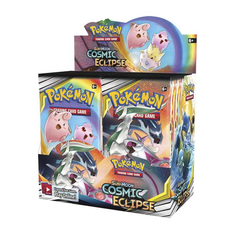 324Pcs New Style Pokemon Trading Card Game:Sun & Moon  (SM12)  Cosmic Eclipse Collect Game Cards Toys