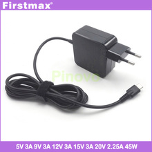 Adapter Laptop Power-Supply Elitebook 1013 G3 1030 Charger Type-C Ac USB-C 45W Firstmax