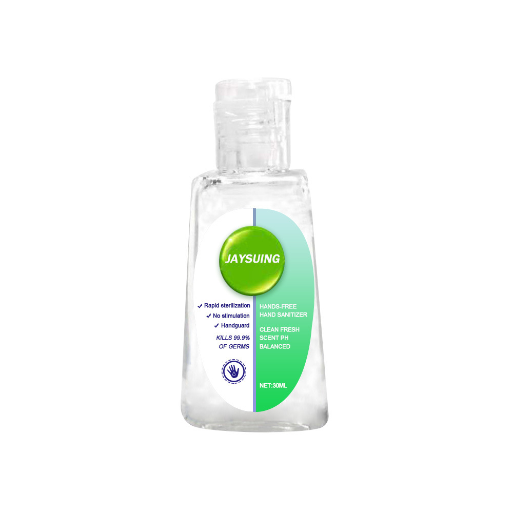 Hand Gel 30ml Cleaner Bottle Kills 99.9% BACTERIA 75% Anti Dust Clean Non Wash