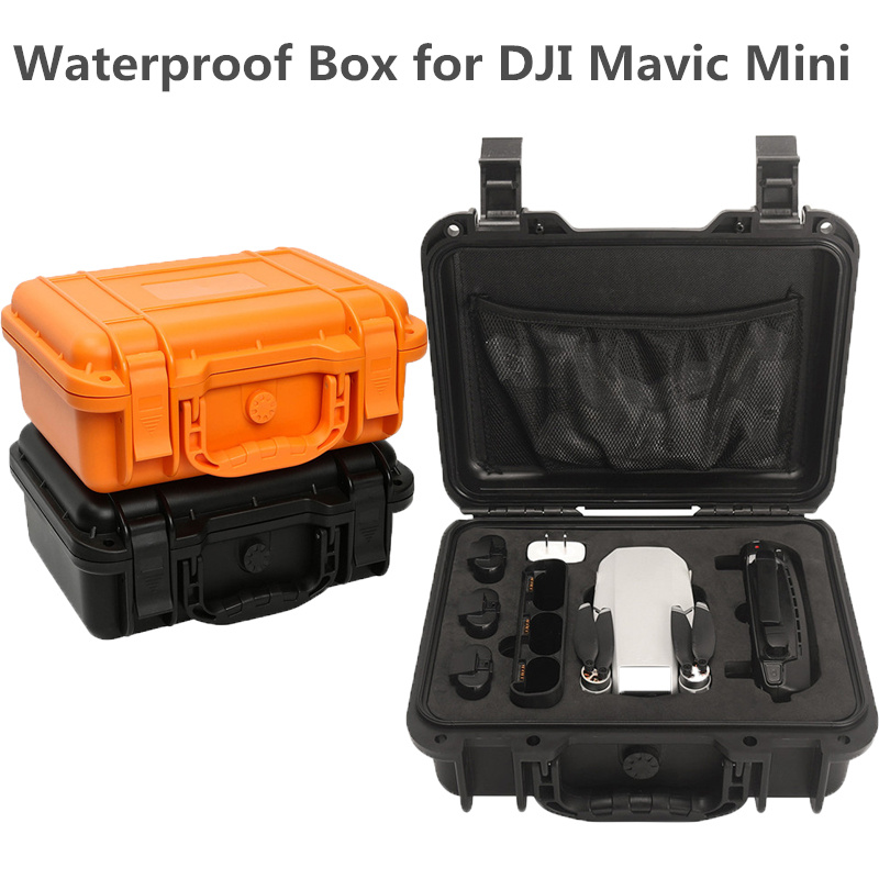 Waterproof Box Case Shockproof Storage Hard Case For DJI Mavic Mini RC Drone Accessories Suitcase Handbag