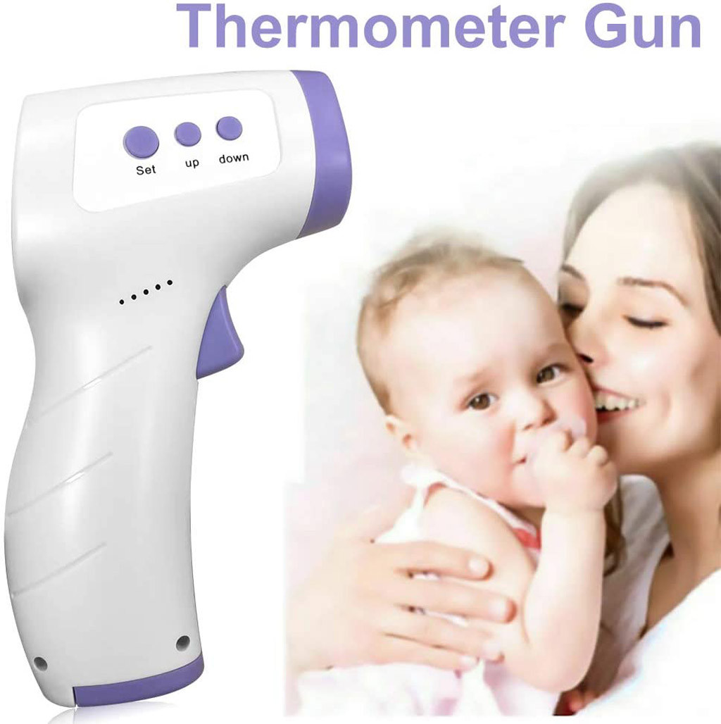 Forehead Thermometer Non Contact Infrared Thermometer Body Temperature Fever Digital Measure Tool For Baby Adult Termometro