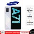 Teléfono Samsung Galaxy A71, Color Azul Blanco Negro, 128 GB de Memoria Interna, 6 GB de RAM, Pantalla FHD+ de 6.7, Dual SIM