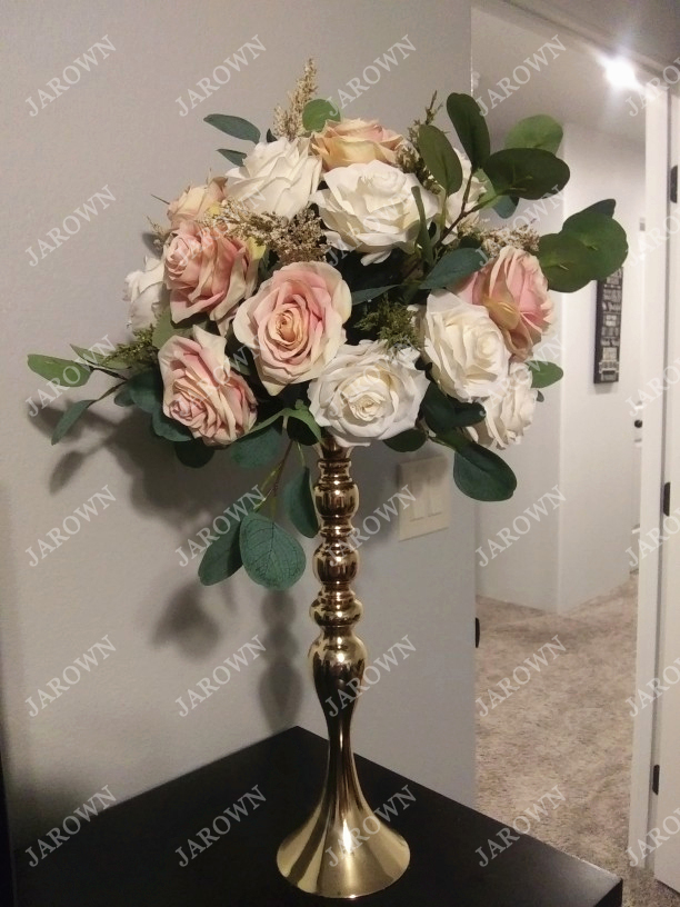Artificial Silk 1 Bunch French Rose Artificial Flower For Wedding And Party Accessory 6