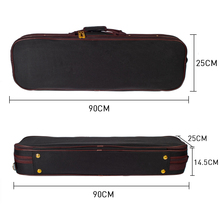 4/4 Violin Case Waterproof Oxford Cloth Light Weight Durable Violin Parts Accessories