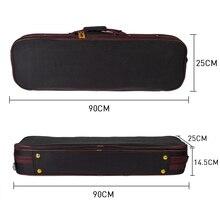 4/4 violino estojo impermeável pano oxford peso leve durável violino peças acessórios
