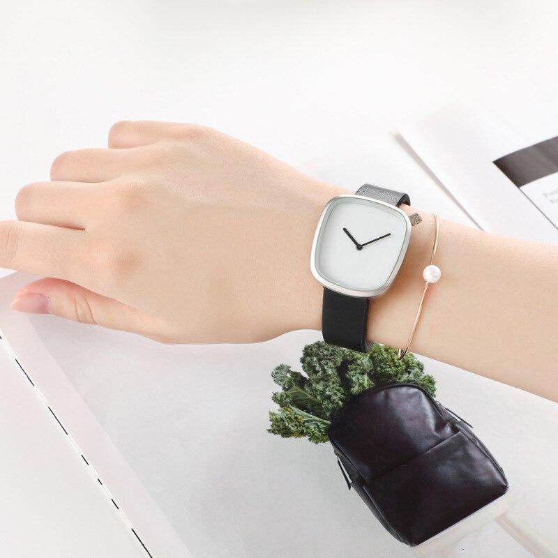 숙녀 시계 럭셔리 브랜드 여성 시계 시계 가죽 석영 손목 시계 여성 시계 reloj mujer kol saati