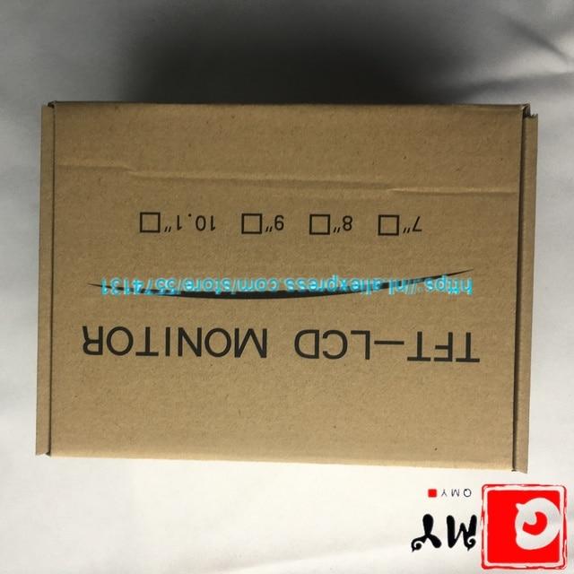10,1 pulgadas 1610 pantalla LCD 169 carcasa de plástico carcasa HDMI VGA 2AV para placa de controlador Raspberry Pi lcds marco de trabajo