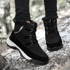 Image 5 - TKN קרסול מגפי נשים נעלי 2019 החורף אמיתי טריזי עור שלג מגפי שרוכים פלטפורמת מגפי פרווה מגפיים גבירותיי 1621