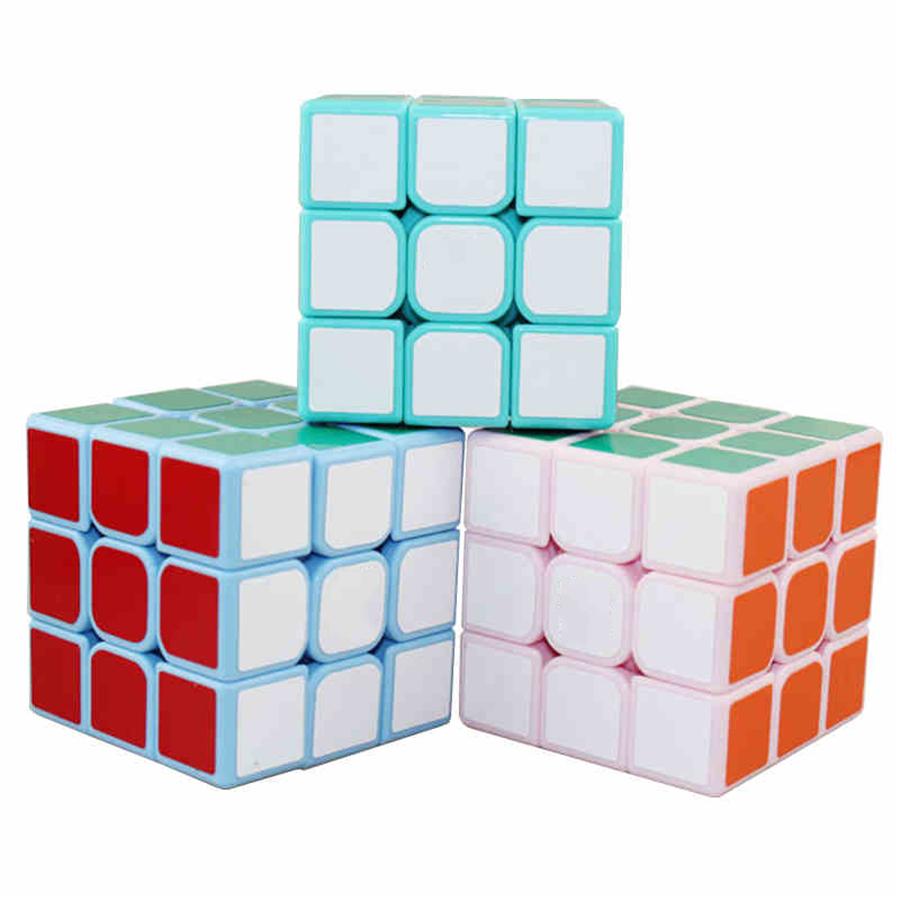 Magic Cubes Stress Reliever Cubos Magicos Puzzles Speed Cubes Brinquedo Educativo Antistress New Cube Kids Toys Puzzler EE50MF(China)