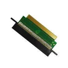 72 pin zu 60 pin adapter karte slot adapter konverter für n e s karte zu für F C konsole spiele