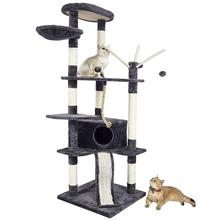 Cat Furniture Scratching Post  CatS Tree Scratcher Tower Fun Climbing Toy Activity Centre Pet House C06