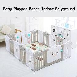 Valla de parque infantil para niños, valla de juego para gatear para niños, 14 unids/set