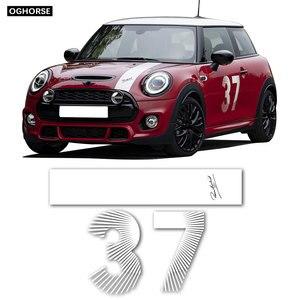 Image 1 - car styling Door Side Hood Bonnet Stripes Vinyl Decal Stickers for mini cooper R50 R52 R53 R55 R56 R57 R60 R61 F54 F55 F56 F60